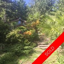 Thetis Island Private, Sunny Artist/Gardeners Retreat on 1.36 Acres for sale:  1+Studio 941 sq.ft. (Listed 2017-06-07)