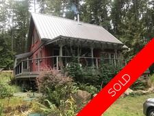 Thetis Island Almost New Home on 2.38 acres for sale:  1 + Den 1,025 sq.ft. (Listed 2017-10-10)