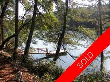 Thetis Island West facing Waterfront with Dock, 3bdr Home for sale:  3 + den + 2bdr studio 2,913 sq.ft. (Listed 2018-01-02)