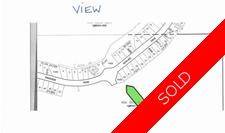 Duncan .174 Prime View lot overlooking Maple Bay for sale: The Cliffs over Maple Bay   (Listed 2014-06-04)