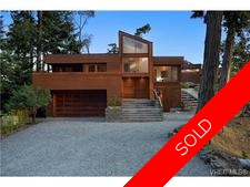 Pender Island  Waves of Light 2.1 acres Architectural Modern with 40' dock & 2 for sale:  3 bedroom  (Listed 2015-04-16)