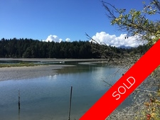 Thetis Island Waterfront 1+ acres with 2 bdr Home & Garage for sale:  2 bedroom 1,233 sq.ft. (Listed 2016-09-04)