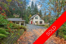 Thetis Island Waterfront 2.08 acres 3bdr/2bath Artist Retreat with Double Gara for sale:  3 bedroom 1,225 sq.ft. (Listed 2016-10-29)