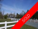 Chemainus 6 acre Horse Lovers Home:  2 bedroom