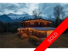 East/West Fernie 40+ Riverfront Acres with Gorgeous Log Home  for sale:  4 bedroom 2,424 sq.ft. (Listed 2016-12-03)