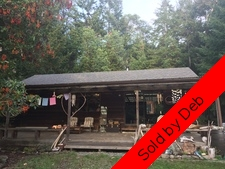 Thetis Island 8.94 Acres with Cottage and Studio  for sale:  1+Studio 800 sq.ft. (Listed 2018-05-08)