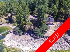 Thetis Island West Facing Waterfront 5bdr/5bath home with Dock for sale:  5 bedroom 4,626 sq.ft. (Listed 2016-06-06)