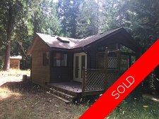 Thetis Island 2.3 Acres with Cottage close to Beaches for sale:  1 bedroom 700 sq.ft. (Listed 2017-02-16)