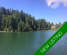 Thetis Island 2 acre Waterfront Lot with Moorage out front for sale:    (Listed 2017-07-26)