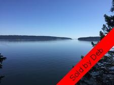 Thetis Island 4.6 Waterfront acres with Gorgeous Views for sale:    (Listed 2016-04-23)