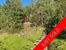 Thetis Island Waterfront 2.27 acres Log Home, Boathouse, Dock for sale:  3 bedroom 2,068 sq.ft. (Listed 2020-02-17)